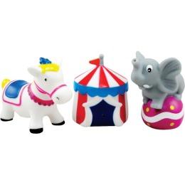 """Курносики набор игрушек-брызгалок для ванны """"Цирк"""""""