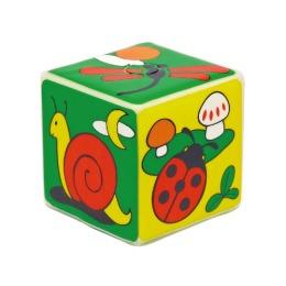 """Курносики игрушка кубик с пищалкой """"Мир вокруг тебя"""""""
