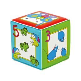 """Курносики игрушка кубик с пищалкой """"Учимся считать"""""""