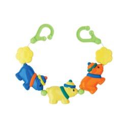 """Курносики игрушка подвеска для коляски или кроватки """"Веселые щенки"""""""