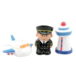 """Курносики набор игрушек-брызгалок для ванны """"Авиация"""""""