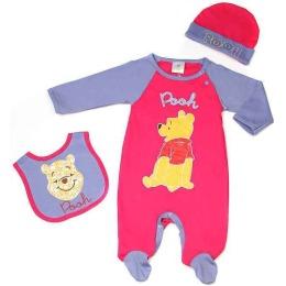 """Disney комплект одежды """"Винни"""" 3 предмета,с 9 месяцев"""