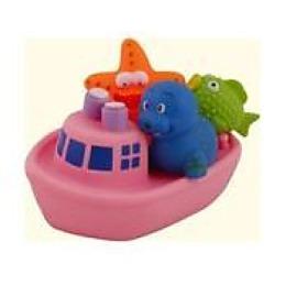 """Курносики игрушка для ванной """"Веселое путешествие"""" розовый"""