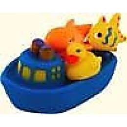 """Курносики игрушка для ванной """"Веселое путешествие"""" синий"""