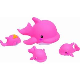 """Курносики игрушка для ванной """"Семейка дельфинов"""""""