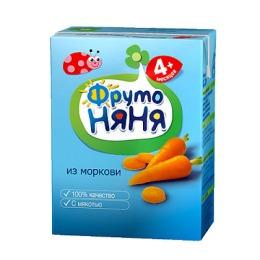 """Фруто Няня нектар """"Морковь"""" с 4 месяцев, 200 мл"""