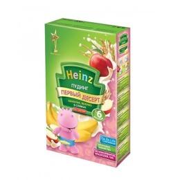 """Heinz пудинг """"Бананчик с яблочком в сливках"""" с 6 месяцев, 200 г"""