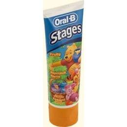 "Oral-B зубная паста  ""Stages Winnie"", 75 мл"