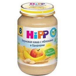 """Hipp каша """"Зерновая. Яблоко и банан"""" с 8 месяцев, 190 г"""
