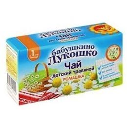 "Бабушкино Лукошко чай травяной ""Ромашка"", 20 г"