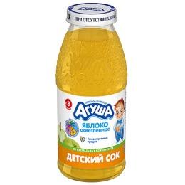 """Агуша сок """"Яблоко"""" осветленный, 150 мл"""