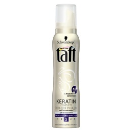 """Taft пена для укладки """"Keratin Complete"""" очень сильная фиксация, 150 мл"""