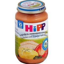 """Hipp пюре """"Картофель, помидор, цыпленок"""" с 10 месяцев, 220 г"""