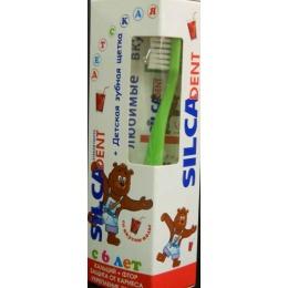 """Silca зубная паста со вкусом """"Колы"""" + щетка"""