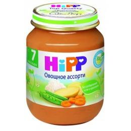 """Hipp пюре """"Овощное ассорти"""" с 7 месяцев, 125 г"""