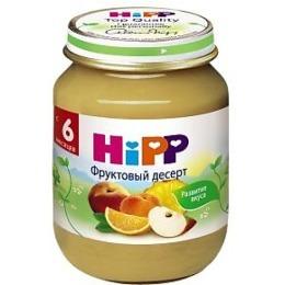"""Hipp пюре """"Фруктовый десерт"""" с 6 месяцев, 125 г"""
