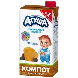 """Агуша компот """"Курага, изюм, яблоко"""", 500 г"""