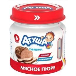 "Агуша пюре ""Говядина"", 80 г"
