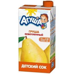 """Агуша сок """"Груша"""" осветленный, 500 мл"""