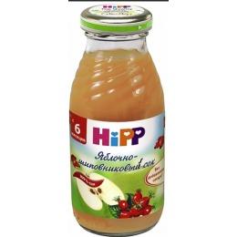 """Hipp сок """"Яблочно-шиповник с мякотью"""" с 6 месяцев, 200 мл"""