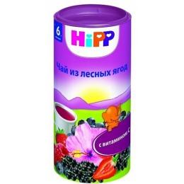 """Hipp чай """"Лесные ягоды с витамином С"""" с 6 месяцев, 200 г"""