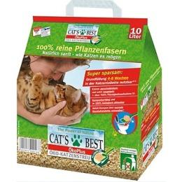 """Cat`s Best наполнитель """"Eko plus"""" для кошачьего туалета, древесный, комкующийся, 20 л"""
