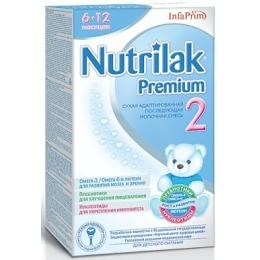 "Nutrilak молочная смесь ""Адаптационная. Premium 2"" с 6-12 месяцев, 400 г"