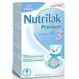 "Nutrilak молочная смесь ""Адаптационная. Premium 3"" с 12+ месяцев, 400 г"