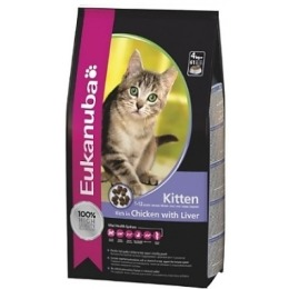 "Eukanuba корм ""Cat"" для котят, с курицей, 2 кг"