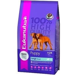 """Eukanuba корм """"Dog"""" для щенков крупных пород, 15 кг"""