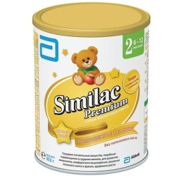"""Similac молочная смесь """"Premium 2"""" 6-12 месяцев, 900 г"""