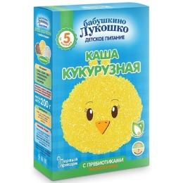 """Бабушкино Лукошко каша """"Кукурузная"""" спребиотиками,с 5 месяцев, 200 г"""