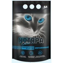 """Котяра наполнитель """"Экстра"""" для кошачьих туалетов, силикогелевый, 5 л"""