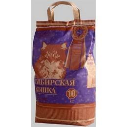 """Сибирская Кошка наполнитель """"Супер"""" для кошачьих туалетов, комкующийся"""