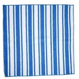 """Rainbow Home полотенце """"Разноцветная полоска"""", бело-голубое, 40х60 см"""