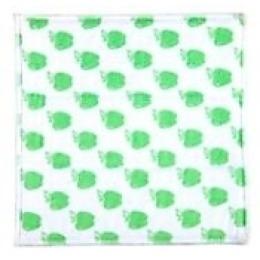 "Rainbow Home набор ""Яблоко"" чистящий: салфетка абразивная 17х19 см + салфетка 35х35 см + спонж + губка 8х12х2,5 см"