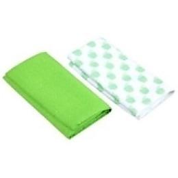 "Rainbow Home набор ""Яблоко"": полотенце 50х50 см + салфетка 35х35 см, зеленый"