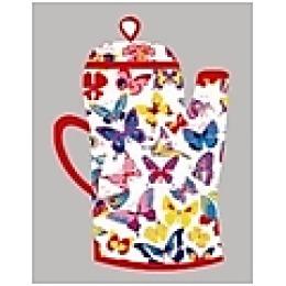 """Bonita рукавица """"Бабочки"""" чайник 18х27 см"""