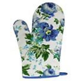 Bonita рукавица голубая, 14х28 см