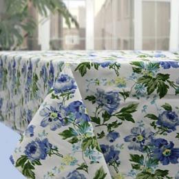 """Bonita скатерть """"Английская коллекция"""" синяя, 145х180 см"""
