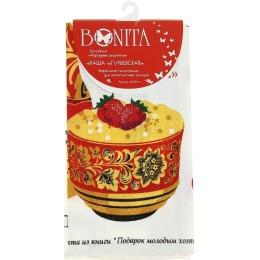 """Bonita полотенце """"Каша гурьевская"""" вафельное, 44х59 см"""