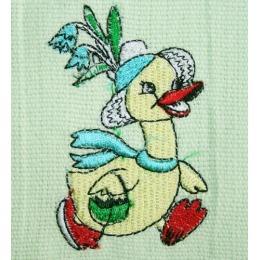 """Bonita полотенце """"Цветок"""" вафельное, светло-зеленое, 40х60 см"""
