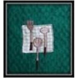 Bonita полотенце кухонное, жаккард, темно-зеленое,  40х60 см