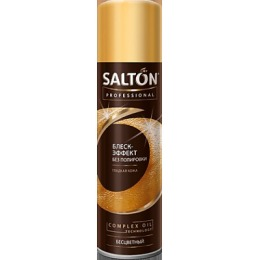 """Salton средство """"Professional. Блеск-эффект без полировки"""" для гладкой кожи"""