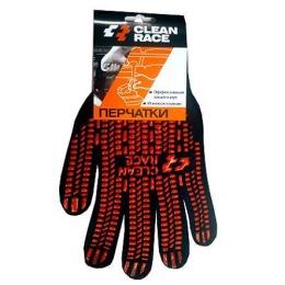 Clean Race перчатки хлопковые, 1 пара