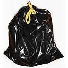 Русалочка мешки для мусора, с завязками, 35 литров, 20 шт