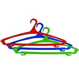Пластик центр вешалка-плечики, микс, размер 48-50