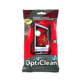 OptiClean салфетки влажные для плазменных экранов, 50 шт