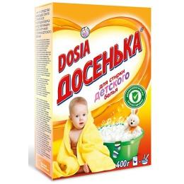 """Dosia стиральный порошок """"Детский"""" для машинной и ручной стирки, 400 г"""