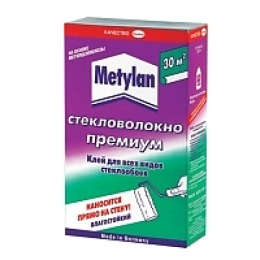 """Metylan клей """"Премиум. Стекловолокно"""" обойный, 500 г"""